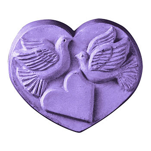 Heart With Dove Mold