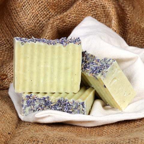 Lavender and Lemongrass Hot Process Soap Kit