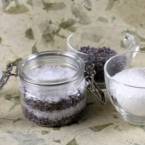 Lavender and Epsom Bath Salts Kit