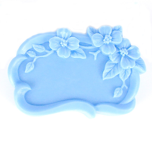 Kudos Flower Frame Silicone Mold