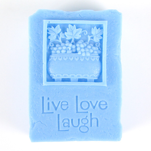 Kudos Live, Laugh, Love Silicone Mold