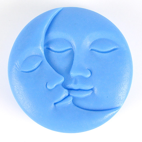 Kudos Moon Faces Silicone Mold
