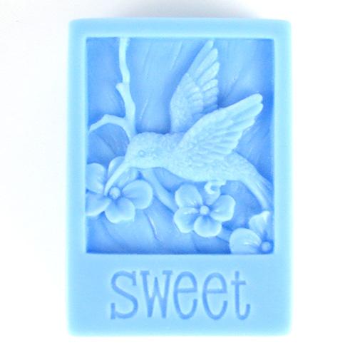 Kudos Sweet Hummingbird Silicone Mold