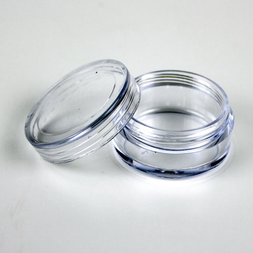 Non-stackable Clear Lip Butter Pots