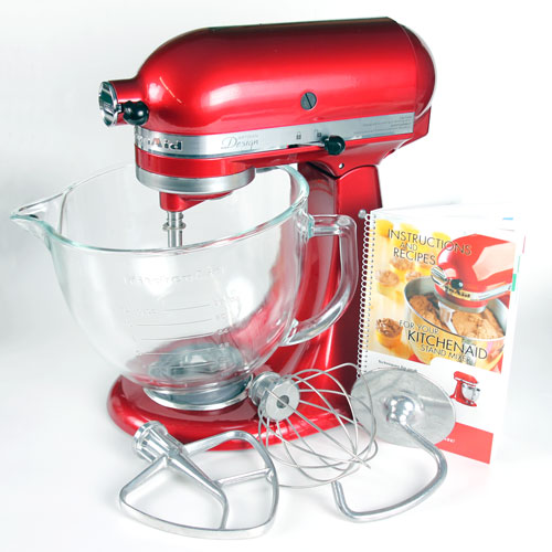 Stand Mixer with 5 Quart Glass Bowl