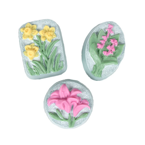 Three Flowers Mold