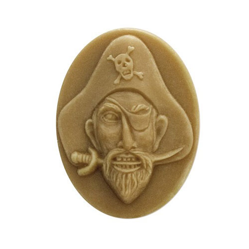 Pirate Face Mold