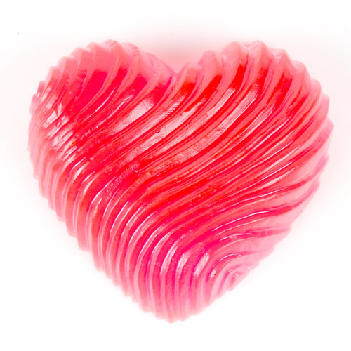 Swirled Heart Mold