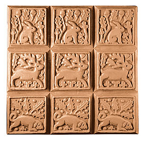 Medieval Animals Tray Mold