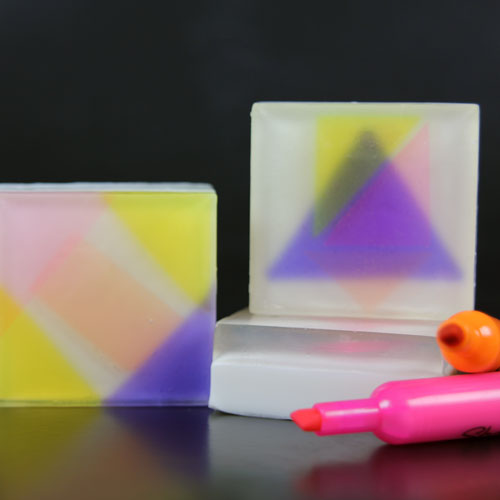 Soapylove E-Zine Neon Kit