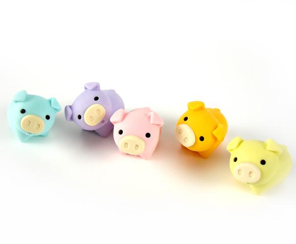 Pig Eraser, 1 Pig