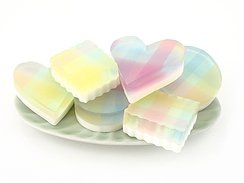 Plaid Soap Kit
