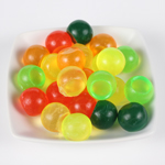Detail of little soaps made witht he 9 ball flexible silicone mold