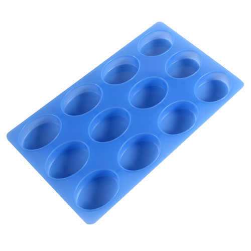 12 Bar Oval Silicone Mold