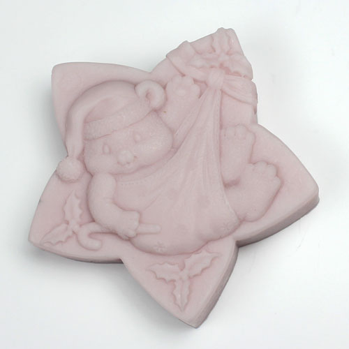 Kudos Holiday Star Bear Silicone Mold
