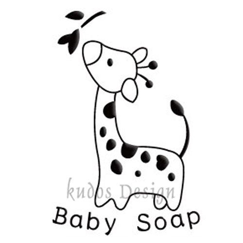 Giraffe Soap Stamp