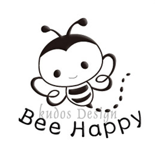 Bee Happy Soap Stamp