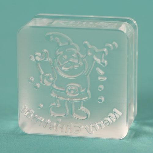 Actual Santa stamp