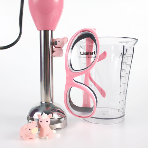 Perfect Pink Stick Blender