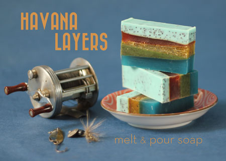 Melt & Pour layered soap
