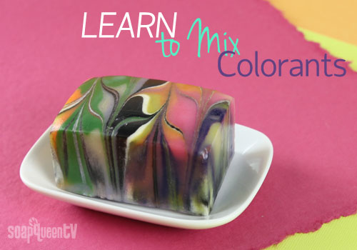 Learn to Mix Colorants for Cold Process Soap Making