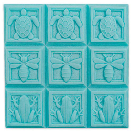 Art Deco Fauna Tray Mold