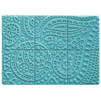 Paisley Tray Mold