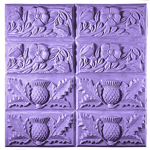 Thistle & Buttercup Tray  Mold