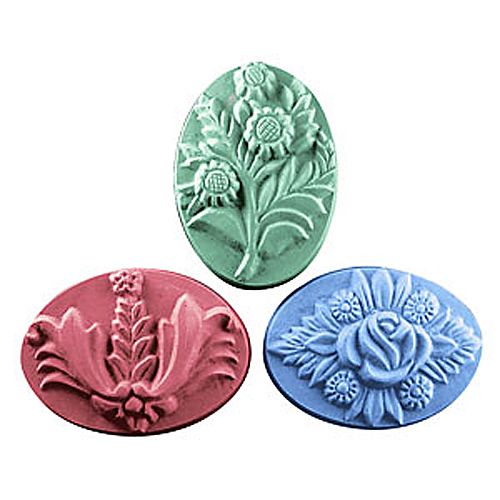 Three Bouquets Mold
