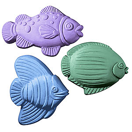 Three Fish Mold