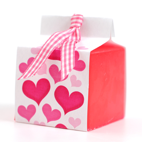 Valentine Cube Mold Wrap - PDF