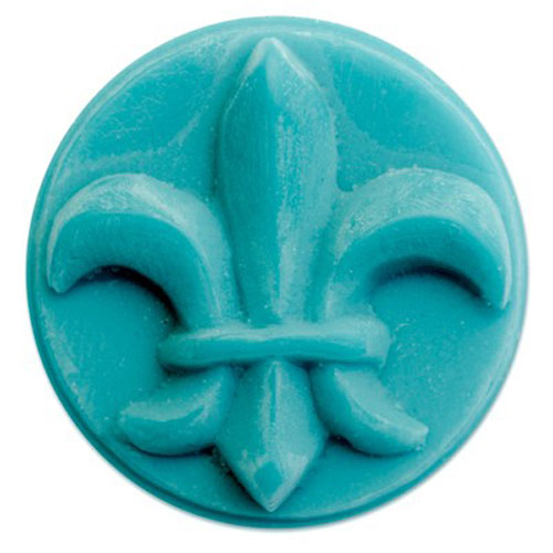 Fleur De Lis Wax Tart  Mold