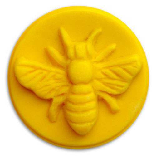 Honey Bee Wax Tart  Mold