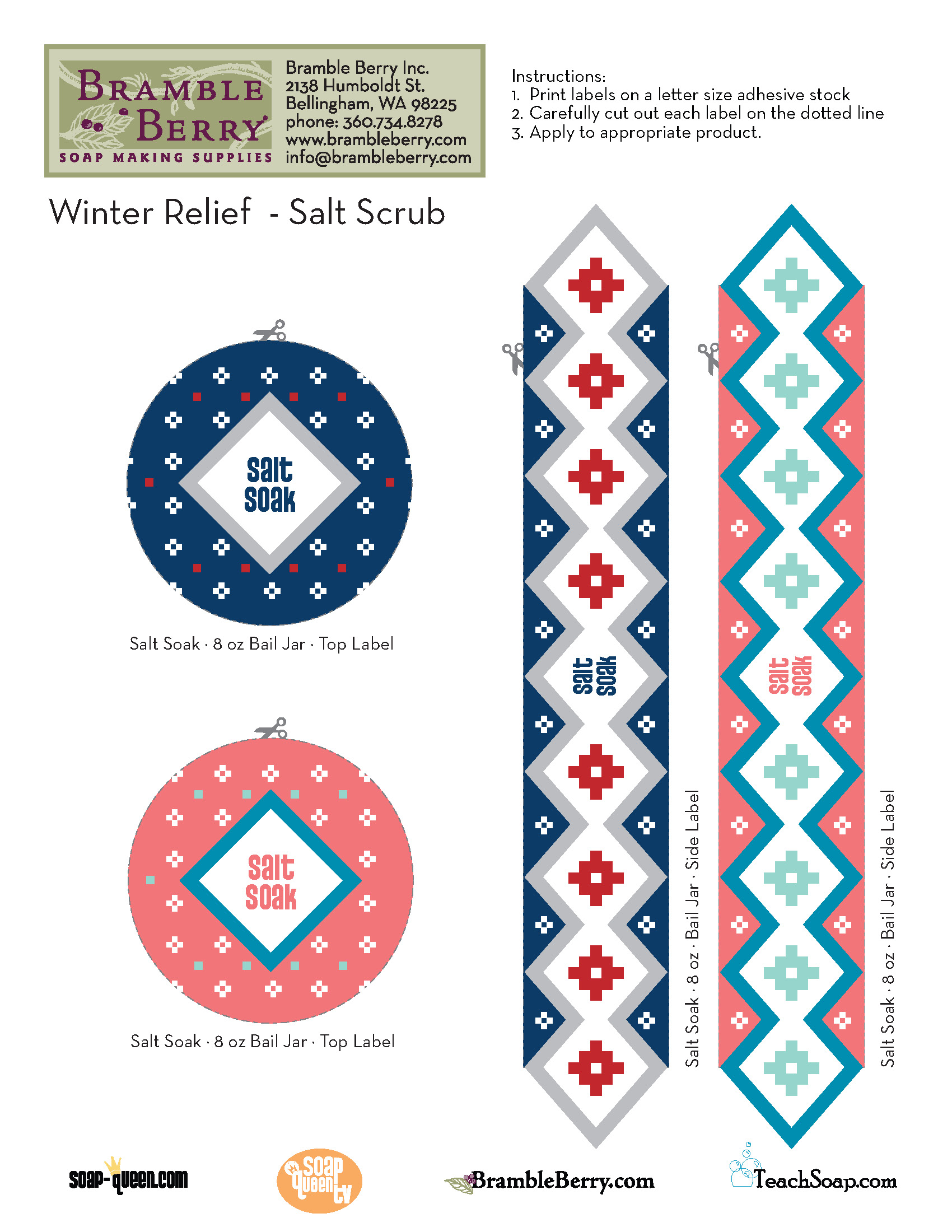 Winter Relief Series: Salt Soak