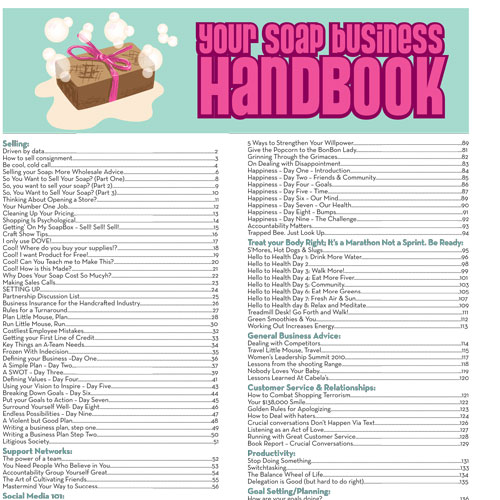 Soap Queen Business Handbook - E-Book