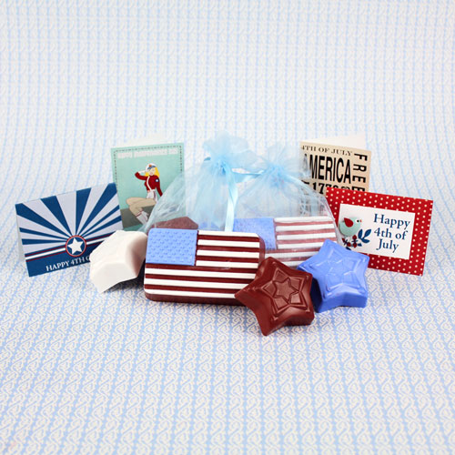 Fourth Of July Soap Kit