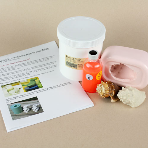 DIY Pourable Silicone Kit with E-book