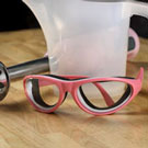 Pink Soapmaking Goggles