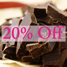 Dark Rich Chocolate Fragrance 20% off