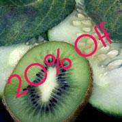 Cucumber & Kiwi Sale