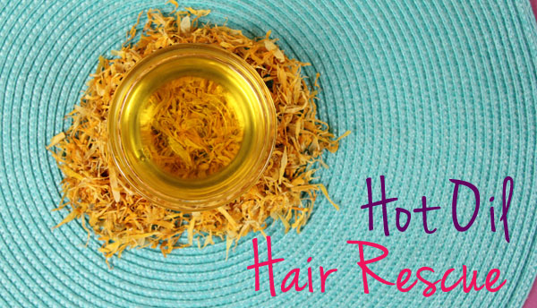 Hot Oil Hair Mask