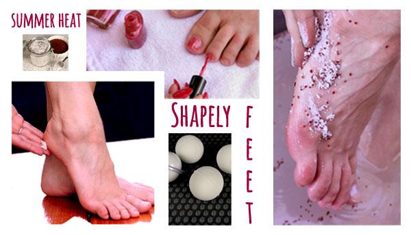 Shapely Feet, Summer Heat Promotion