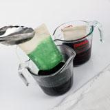 Adding the pigment