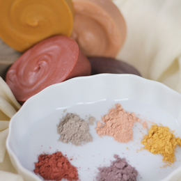 Our new assortment of Natural Brazillian Clay