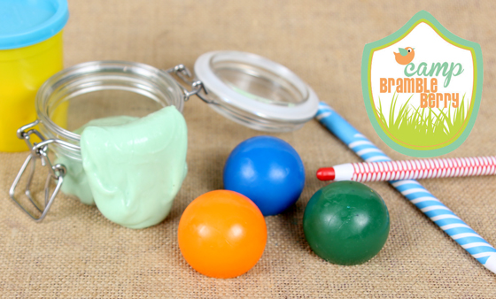 Soap Crayons and Squishy Putty - learn to make them at Camp Bramble Berry!