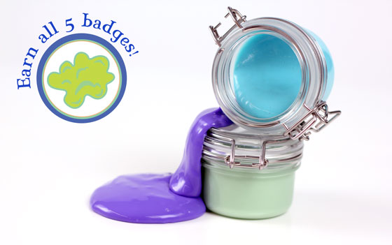 Make your own squishy putty
