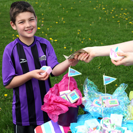 Raise money for your school and club with soap sales