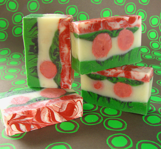 Cheery Holiday Soap Kit