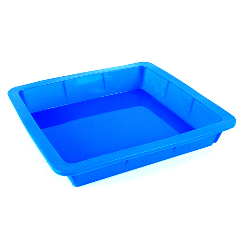 Glossy Silicone Square Tray Mold