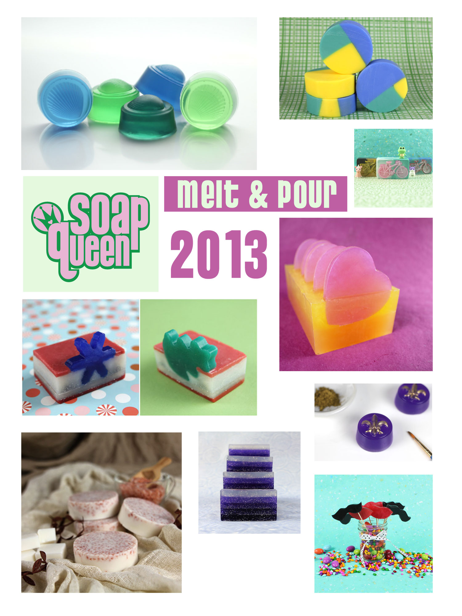 Soap Queen Melt & Pour Vol. 5, e-book